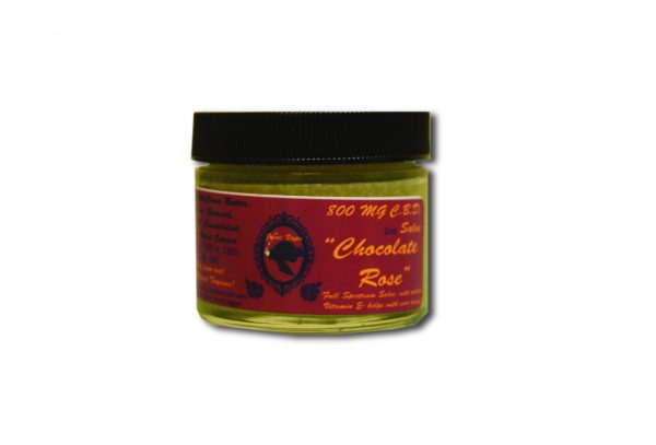 800 mg Chocolate Rose Full Spectrum Salve