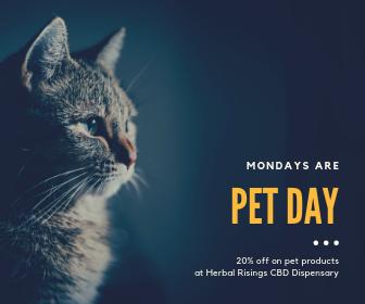 cbd dispensary weekly specials monday
