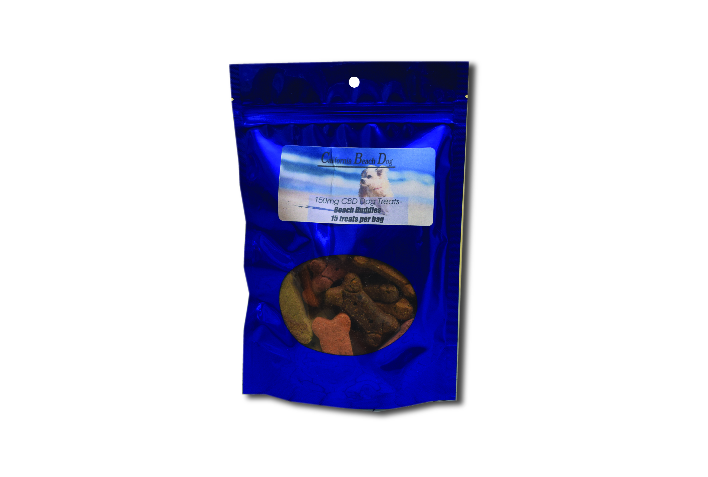 150 mg Doggie Bone Beach Buddies Dog Treats