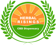 herbal risings cbd dispensary logo
